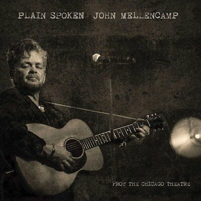 John Mellencamp - Plain Spoken - Live From The Chicago Theatre  Blu-Ray+Cd New