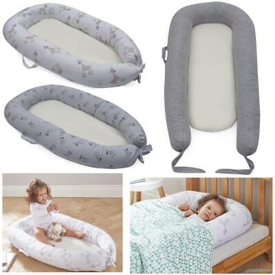 Purflo Breathable Baby Toddler Bed Sleep Maxi Nest Cushion 6 to 36Mths