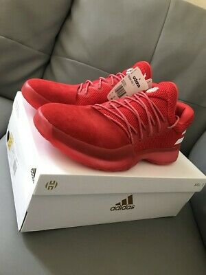 6a78a2922fa1 Adidas Basketball James Harden Vol.1 Red White Shoes Boost New Men NBA  CQ1404