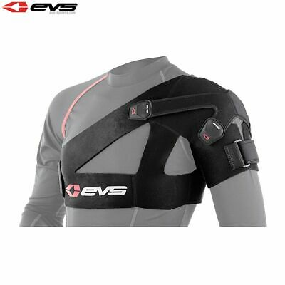 EVS SB03 Motorcycle Bike Shoulder Support Adjustable Stabilizer Adult Black