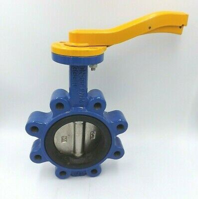 Albion Butterfly Valve Dn100 Pn16 Art145 Ggg40 Di Disc Free Courier & Vat Inc