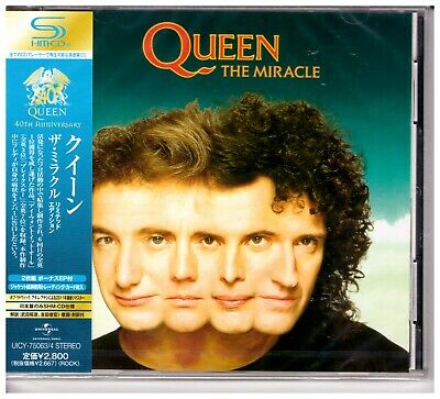 Queen , The Miracle   ( Remastered, Limited Edition, 2-SHM-CD )