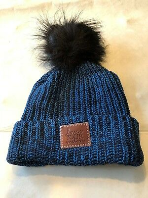 afc7a79d91b New Love Your Melon Speckled Pom Beanie (Black Pom)