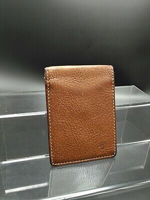 c311e4cc904a Mulberry Travel Card Holder Wallet in Oak Darwin Leather Excellent