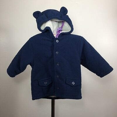8147179dc NICE BOYS SIZE 3-6 months Baby GAP blue bear print button front ...