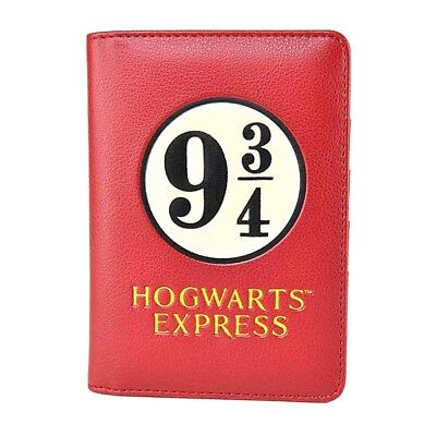 Genuine Harry Potter 9 3/4 Hogwarts Express Passport Holder Card Travel Wallet