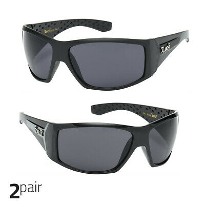 0cd6cd732fa9 Large OG Real Locs Sunglasses Dark Gangster Shades Mens Loc Glasses Black
