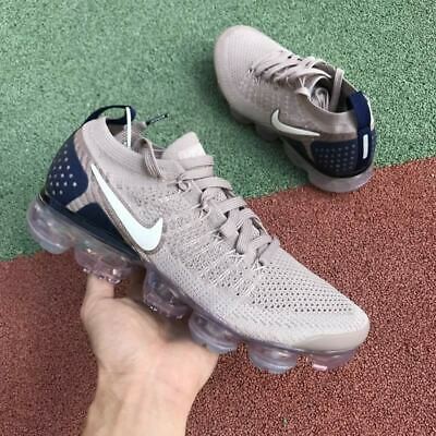 Mens Nike Vapormax Flyknit 2 Sneakers New, Diffused Taupe 942842 201 11.5 sku