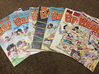The Beano comic book 2006 bundle - No 3346, 3353, 3355, 3356, 3357, 3359, 3361