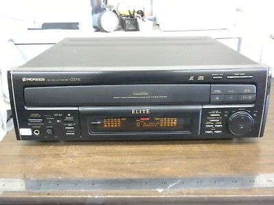 Panasonic LCD 52 Pioneer Elite Laserdisc CD CDV LD Player Cld-52 CLD52