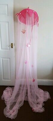 Princess Bed Canopy. Pink.