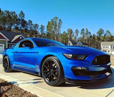 Lightning Blue Mustang >> 2017 Ford Mustang Shelby Gt350 47 000 00 Picclick
