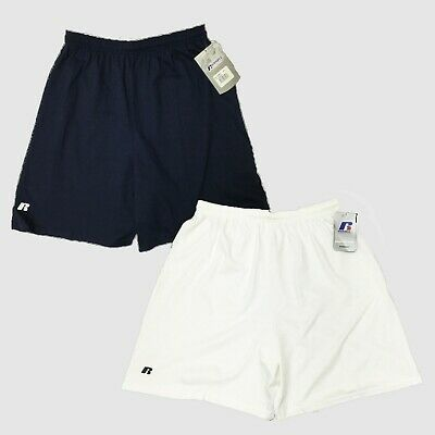 Russell Mens Sweat Shorts 100% Cotton Workout Jersey Athletic Short 42715MO