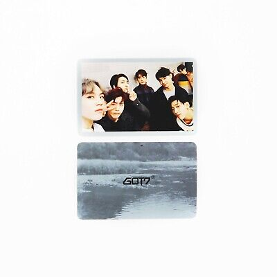 [GOT7] 1st 7 for 7 Present Edition Album Official Photocard / Selfie ver.- GROUP