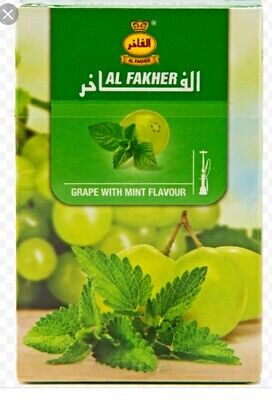 AlFakher 50g GRAPE WITH MINT  flavor Genuine Product