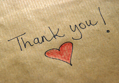 Thank You! Personalized Thank You Letter! <3