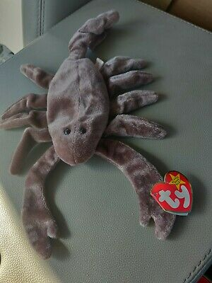 4a29ccbf4d2 RARE TY STINGER Beanie Baby Scorpion Retired 1997 Tag Babies ...