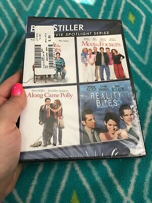 MEET THE PARENTS + FOCKERS + ALONG CAME POLLY + REALITY BITES DVD •New•