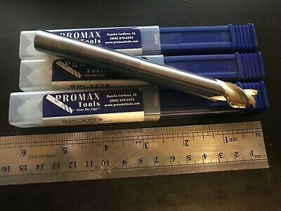 "1//4/""diax1 1//4/""LOCx4/""long-3 Flute High Perform Aluminum Carbide End Mill LOT of 5"