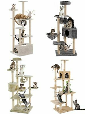 Large Kitten Cat Tree Cat Scratcher Scratching Climbing Post Cat Activity Centre