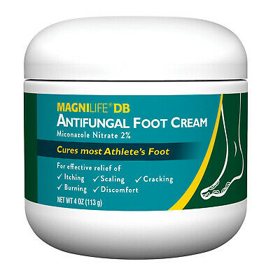 MagniLife Antifungal Foot Cream, Cures Athlete's Foot, Relieves Itching Burning