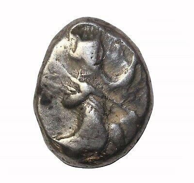 Persia Achaemenid Empire AR Silver Siglos 5th-4th Centuries BC Ancient Coin