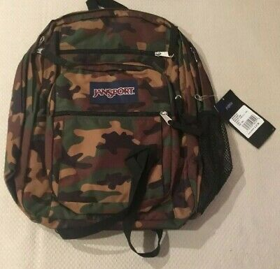 62ce59ea8b9 JANSPORT BIG STUDENT Backpack - Surplus Camo MSRP $47.99 - $34.44 ...