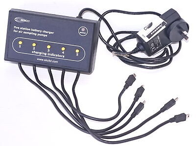 SKC 223-109A AC 5-Bank Battery Charger for Airchek 3000 pump