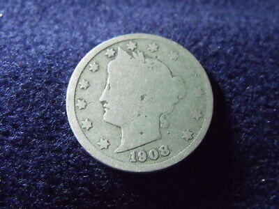 1908 LIBERTY ~V~ NICKEL GOOD CONDITION......  free shipping as always J-76