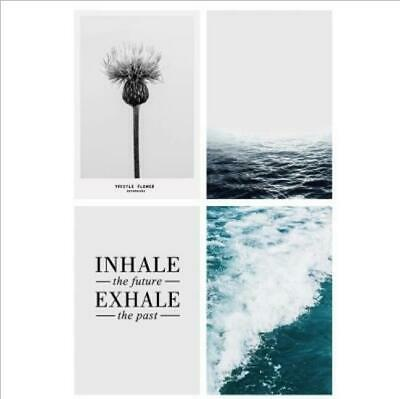 Modern Decor Quotes Print Minimalism Wall Home Poster Canvas Motivational Art