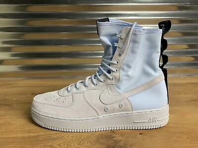 the best attitude ff3eb 2a5cd NIKE SF AF1 High Special Field Air Force 1 Blue Tint Gray SZ ( 864024-402 )