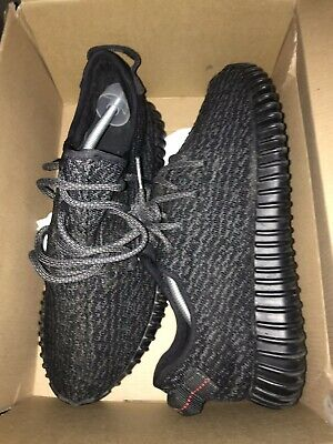 c4fdb8c89b014 ADIDAS YEEZY 350 Pirate Black 2016 10.5 100% AUTHENTIC -  350.00 ...