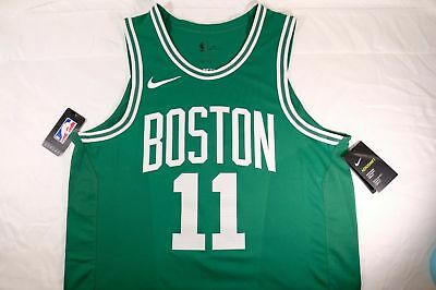 reputable site 5f7b9 7fa1e NIKE KYRIE IRVING Boston Celtics Icon Edition Away Jersey ~ 863015 Sz 40  Small