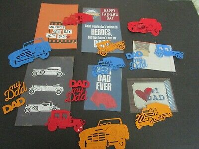 Die Cuts Cars Cars Dad  Cardstock  No !