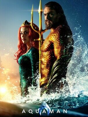 Aquaman 4K Ultra Hd Disc Only | Region Free | Jason Momoa | Amber Heard |