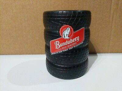 Bundaberg Rum Red Racing Tyre Stack Can Stubby Holder Cooler - Not Glass Cap