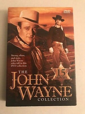 The John Wayne Collection (DVD) 5 Disc Box Set 15 Movies Region 1 FREE SHIP