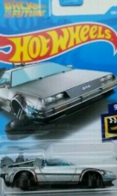 hot wheels 2019 back to the future delorean time machine ( hover version)