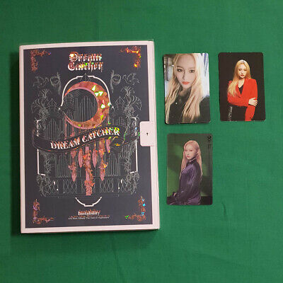 [Pre-Owned] Dream Catcher The End of Nightmare Instability Siyeon 3pcs Photocard