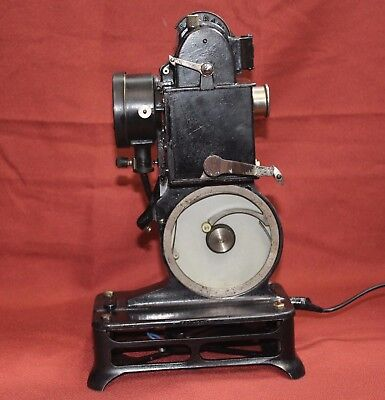 PATHESCOPE BABY 9.5mm VINTAGE MOVIE PROJECTOR.SERVICED BY PROJECTOR HEAVEN,