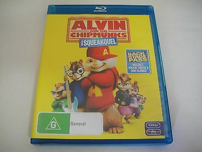 Alvin And The Chipmunks 2: Squeakquel (2009) - Blu-Ray Region B | Like-New