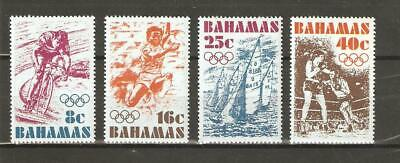 Bahamas, Scott 388 - 391 in MH Condition