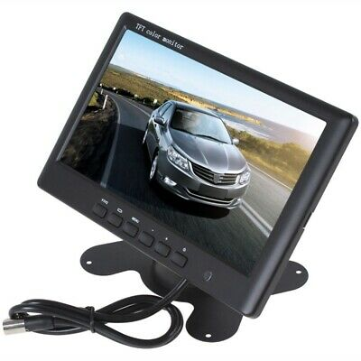 Car Display 7 Inch Car AV2 Interface 2 Way Reverse Priority Display C9H4