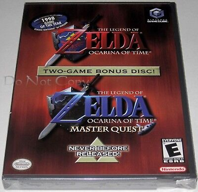 The Legend of Zelda: Ocarina of Time - Master Quest (GameCube). SeaLED- yfolds!