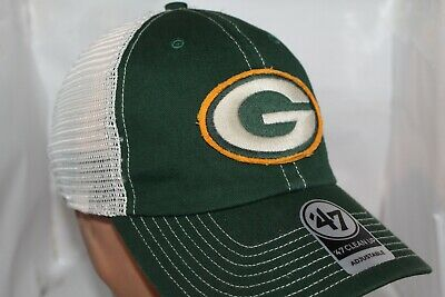 brand new c095e c1039 Green Bay Packers NFL  47 Canyon Mesh Clean Up,Snapback,Cap,Hat