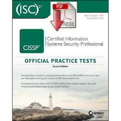 [PDF] CISSP Official (ISC)2 Practice Tests 2nd Edition