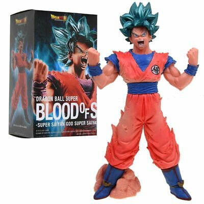 Dragon Ball Z Blood of Saiyans Super Saiyan God Son Gokou PVC Figurine d'action