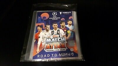 Topps Champions League Match Attax 2018/19 Road to Madrid / Album