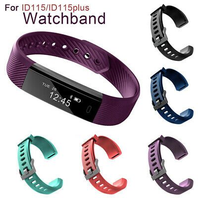 Silicone Replacement Smart Bracelet Band Wrist Strap For Veryfit Id115 Plus Nice