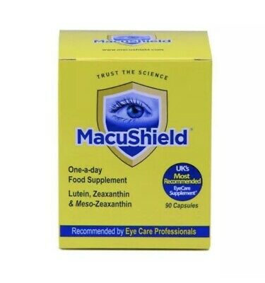 Macushield Eye Health Supplement 90 Capsules 3 Month Supply